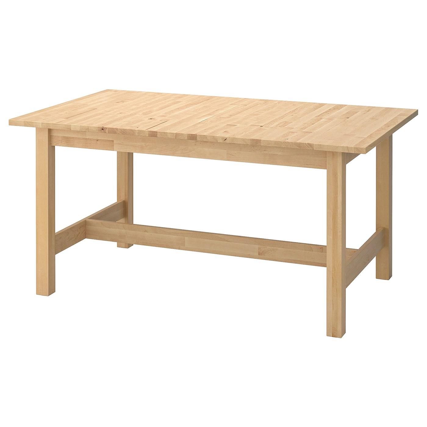 Nornas Ikea Norden Extendable Table Birch