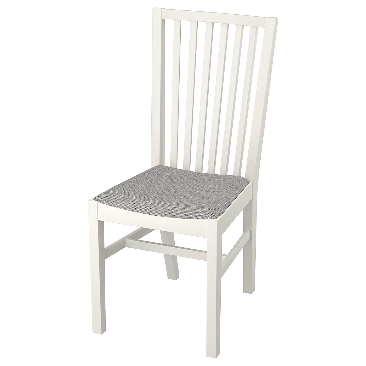 Nornas Ikea NorrnÄs Chair White Isunda Gray