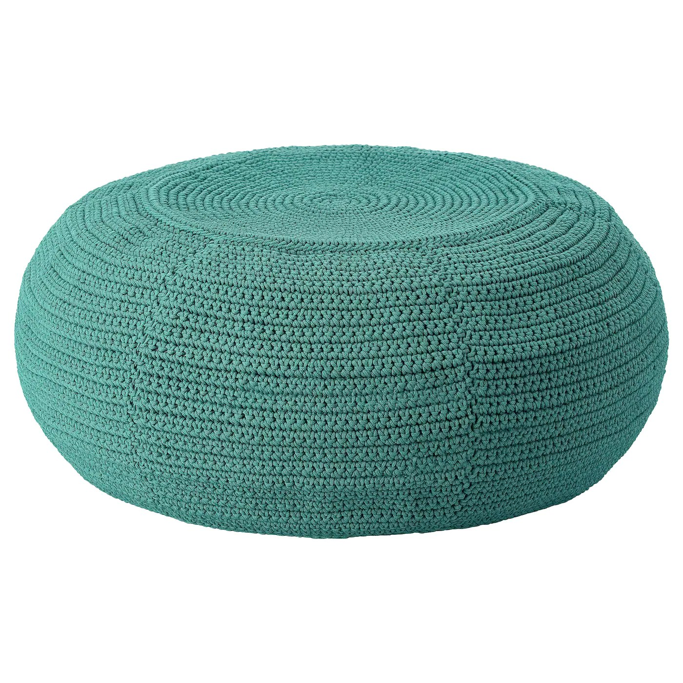 OtterÖn InnerskÄr Pouffe In Outdoor Dark Green Ikea