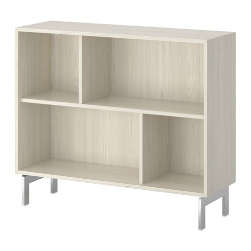 Valje Shelf Unit Larch White Ikea - Lack Kast Ikea