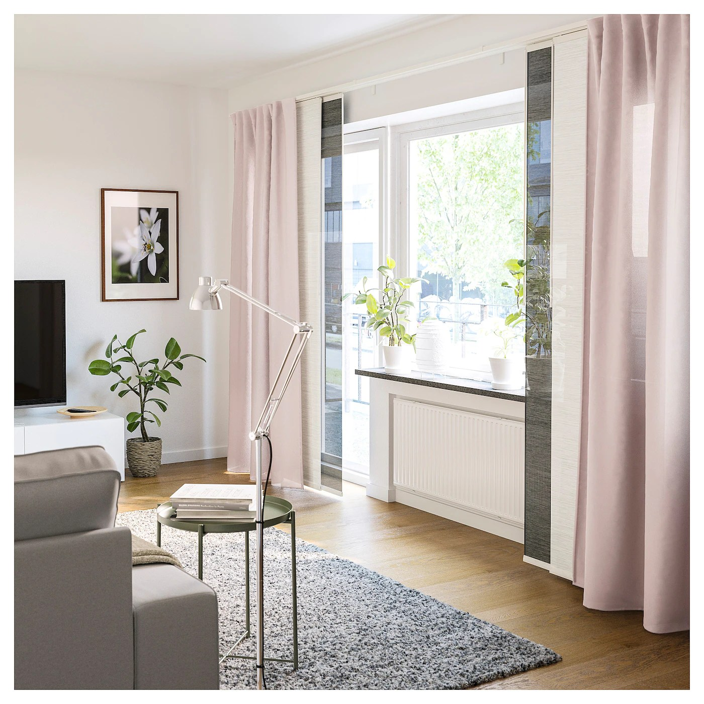 Vidga Triple Curtain Rail White Ikea - Ikea Gardinenstange Vidga Video