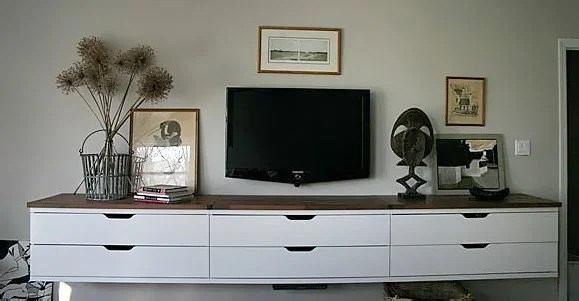 Ikea Craft Room Furniture A Winning Stolmen Floating Credenza For The Bedroom - Ikea