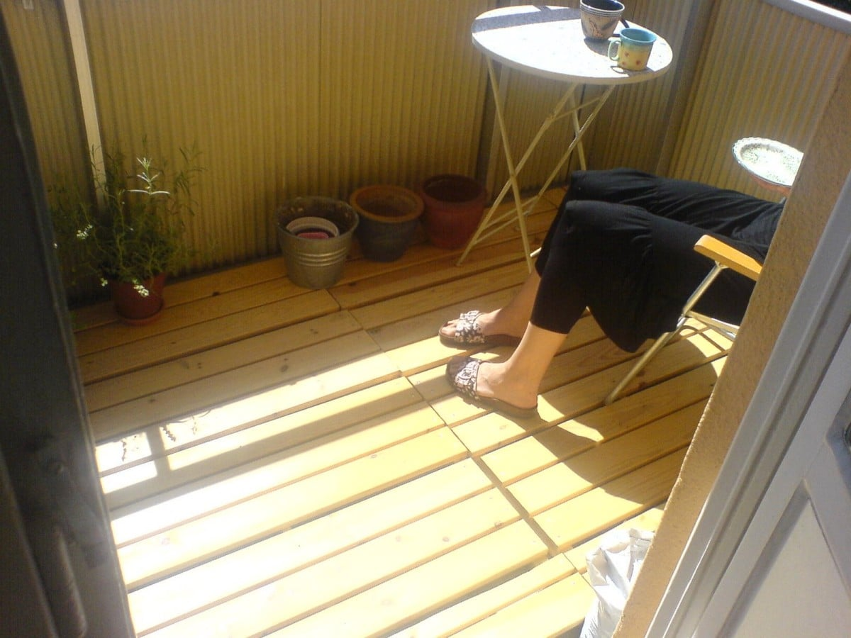 Ikea Gartenmöbel Tullerö Need A Wooden Deck For Your Balcony Ikea Hackers