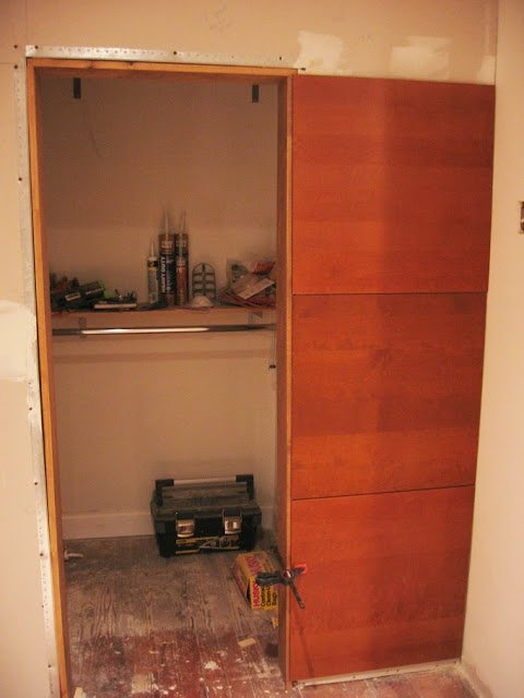 Corner Closet Ikea Walk In Closet From Kitchen Wall Panels - Ikea Hackers