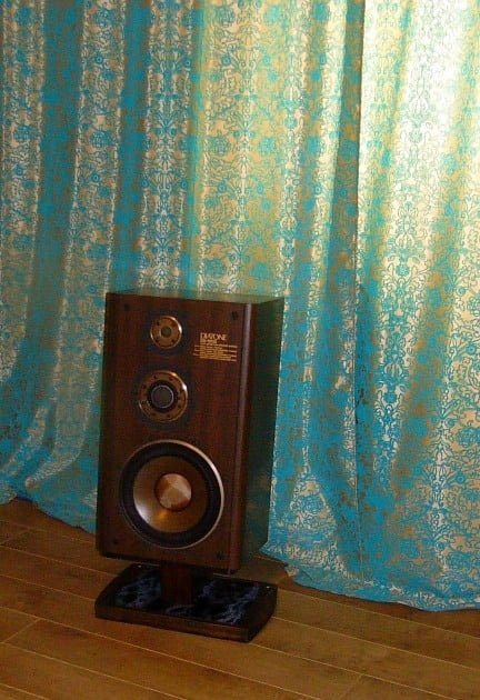 Ikea Craft Table Speaker Stands For Vintage Diatone Speaker System - Ikea