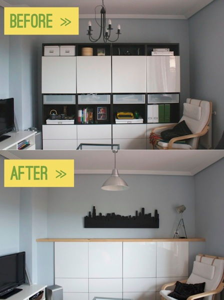 Mudroom Ideas Chopped Up & Built-in Besta - Ikea Hackers - Ikea Hackers