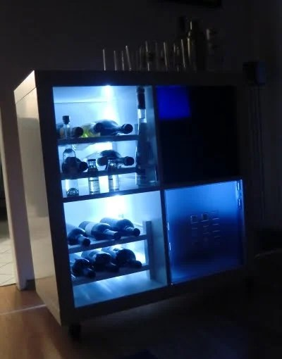"Laundry Room Lighting ""minibar"" Ikea Style - Ikea Hackers - Ikea Hackers"