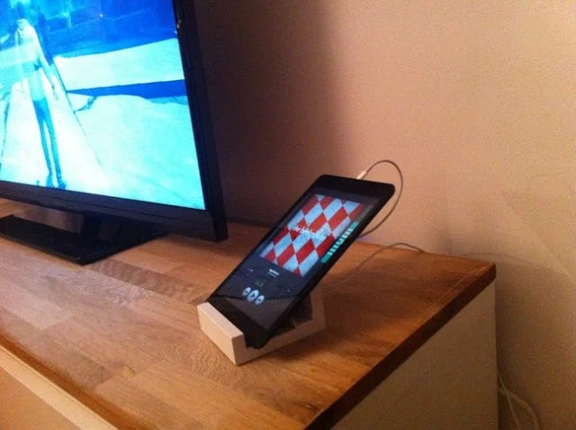Ikea Ribba Shelf Ribba Tablet/phone Stand - Ikea Hackers - Ikea Hackers