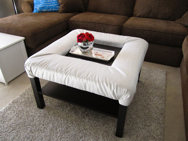 Ikea Lack Side Table Lack Coffee Table With Footrest - Ikea Hackers