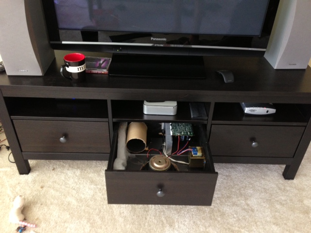 Meuble Hemnes Ikea Subwoofer In A Drawer - Ikea Hackers
