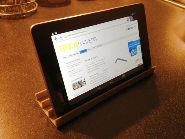 Dvd Rack Ikea 'restlet' - A Low Cost Ikea Tablet Or Smartphone Stand