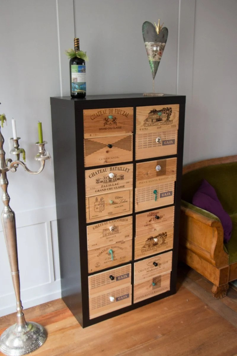 Etagere Vin Ikea Spotted In Switzerland: Expedit With Wine Styled Drawers