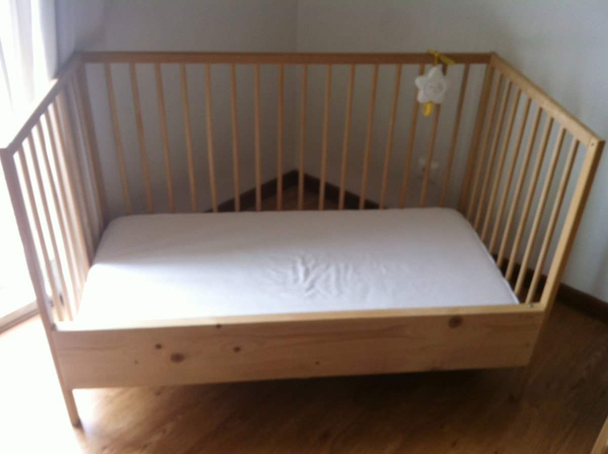 Ikea Crib Sniglar Crib To Sleeper - Ikea Hackers
