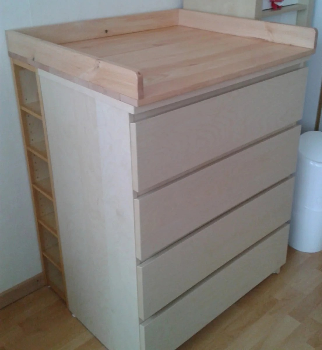 Changing Table Chest Of Drawers Changing Tables Archives Ikea Hackers