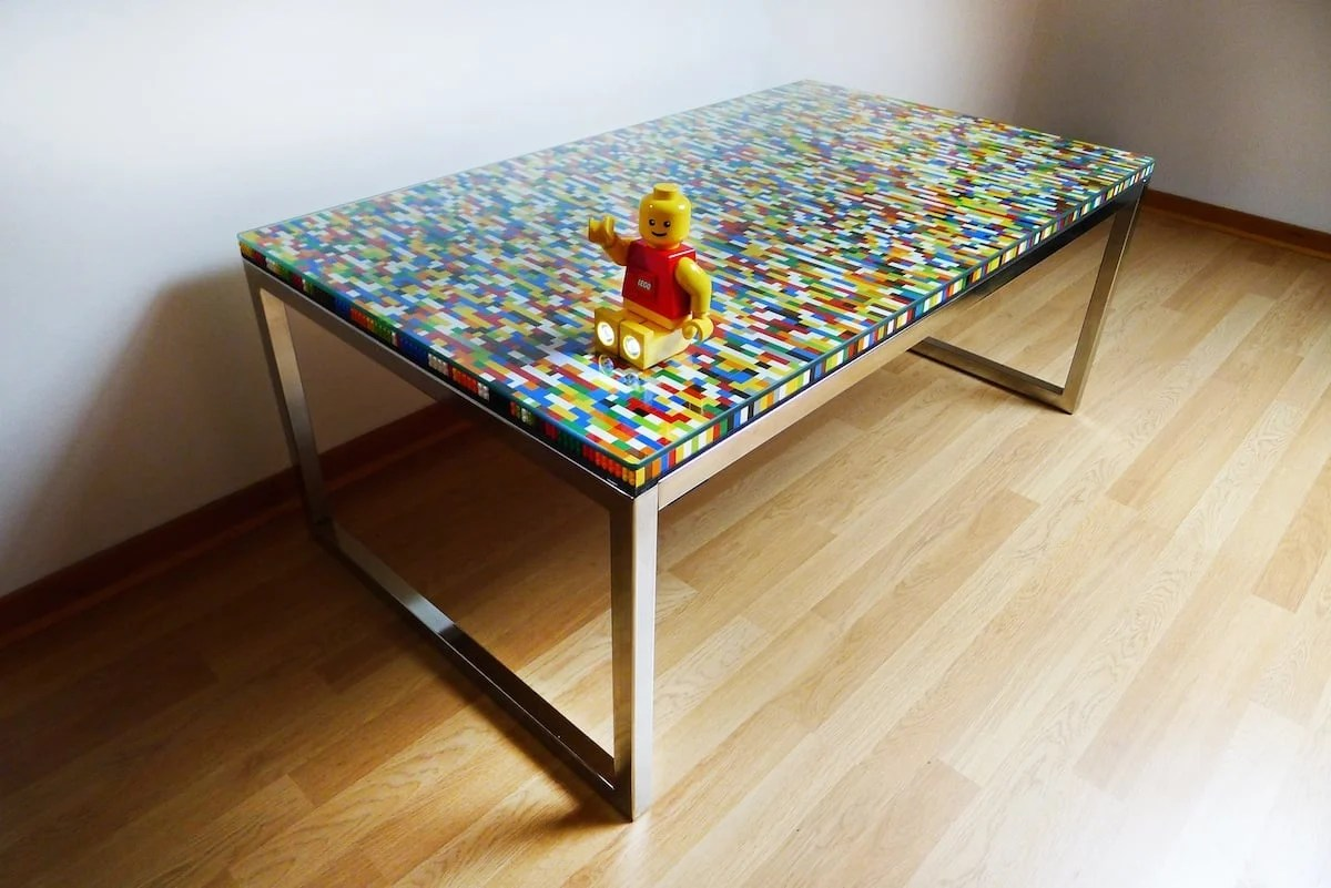 Lego Tisch Ikea Never Too Many Colors Aka Another Lego Table Ikea Hackers