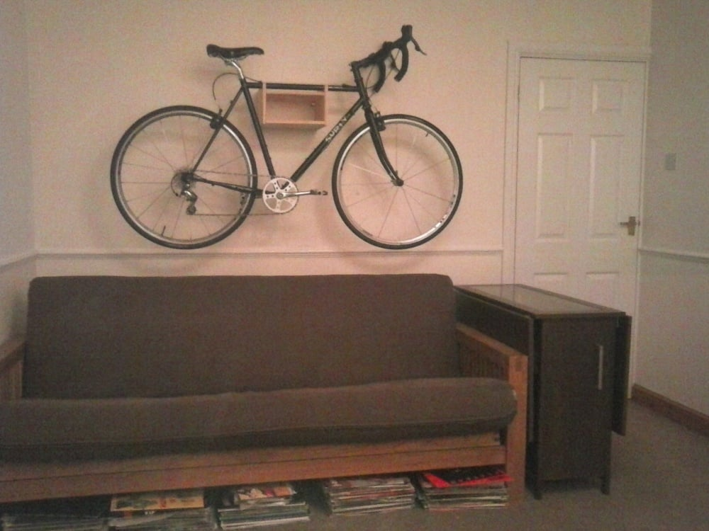 Rast Bike Wall Mount Ikea Hackers Ikea Hackers