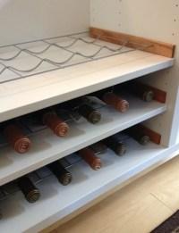 BESTA wine rack hack! - IKEA Hackers - IKEA Hackers