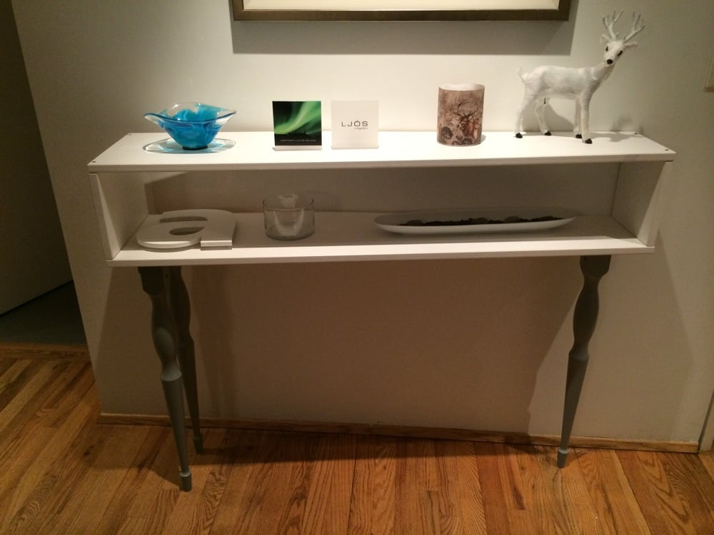 Meuble Profondeur 20 Cm Ikea Console Table With 3 Legs - Outstanding - Ikea Hackers