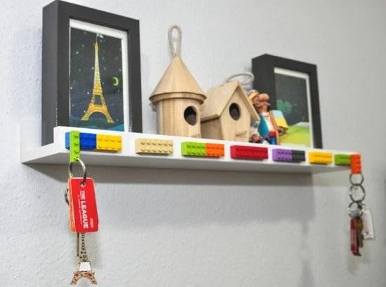 Ikea Lego Entryway Key Shelf