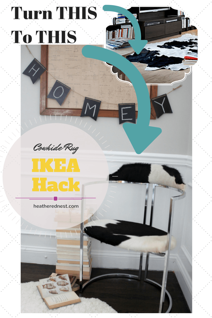 Ikea Cowhide Rug Koldby Cowhide Rug To Cool Chrome Chair Ikea Hackers