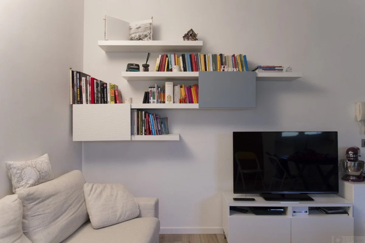 Stylish Lack And Besta Bookshelf Ikea Hackers Ikea Hackers