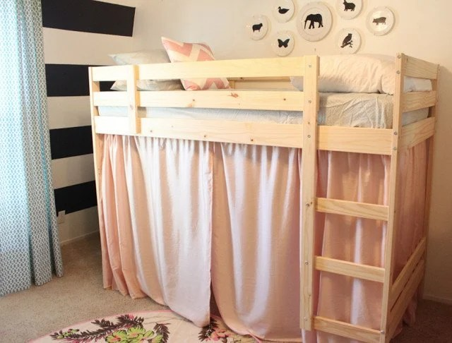 Ikea Lack Upgrade A Mydal Bunk Bed Upgrade - Ikea Hackers