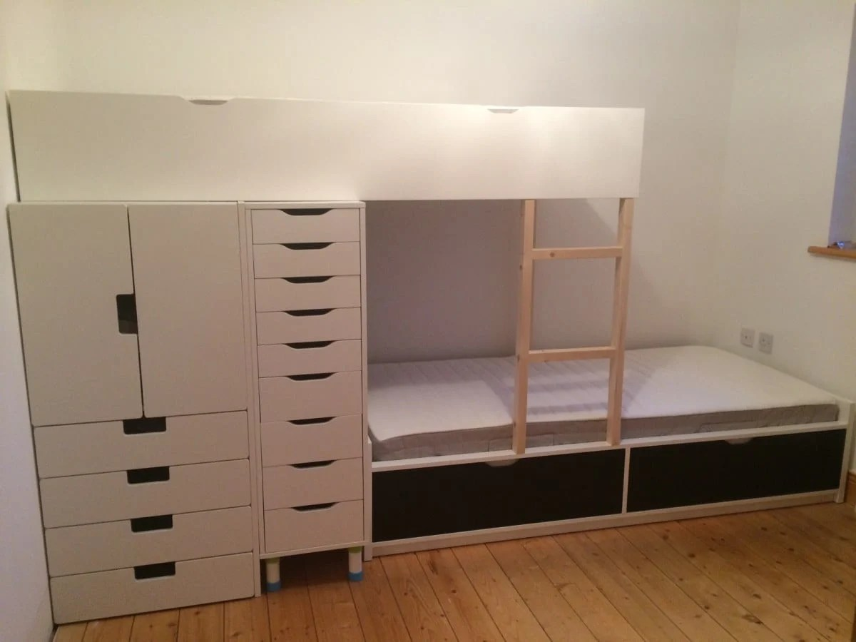 Ikea Hacks Stuva Flaxa Bunk Bed With Lots Of Storage Ikea Hackers