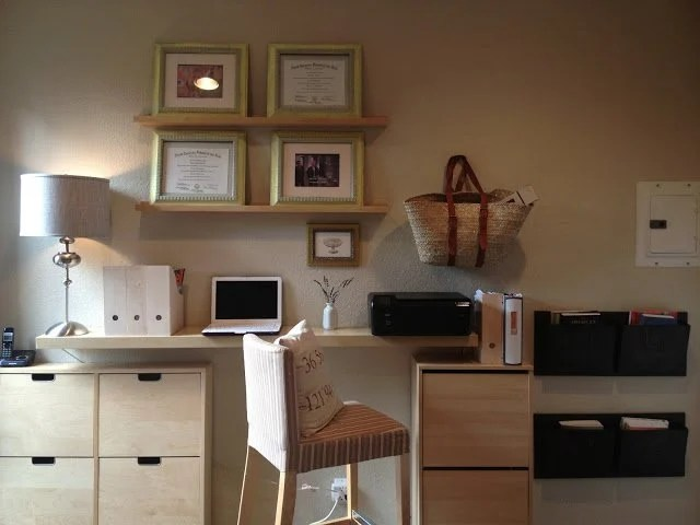 Meuble Classeur Bureau Minimalist Home Office Hack - Ikea Hackers - Ikea Hackers