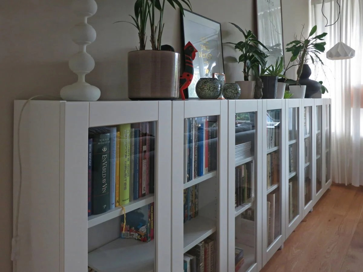 Ikea Billy Hack Billy Bookcases With GrytnÄs Glass Doors Ikea Hackers