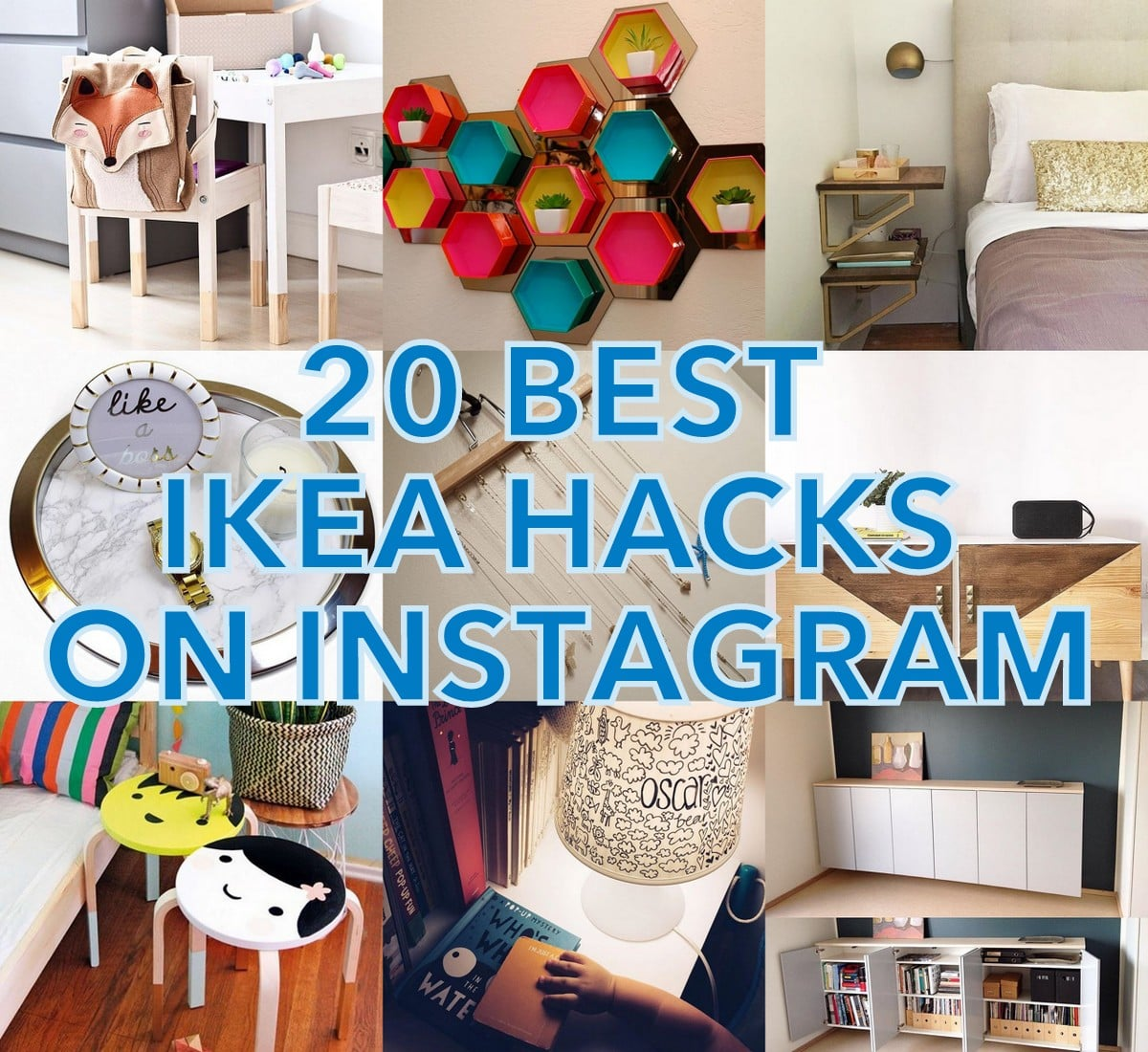 Ikea Hacks 20 Best Ikea Hacks On Instagram And I M An Instaaddict Ikea
