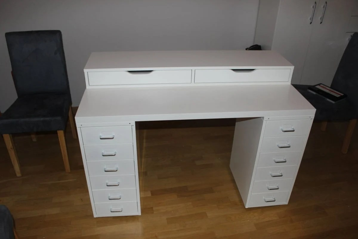 Ikea Dressing Table An Affordable Ikea Dressing Table Makeup Vanity Ikea Hackers