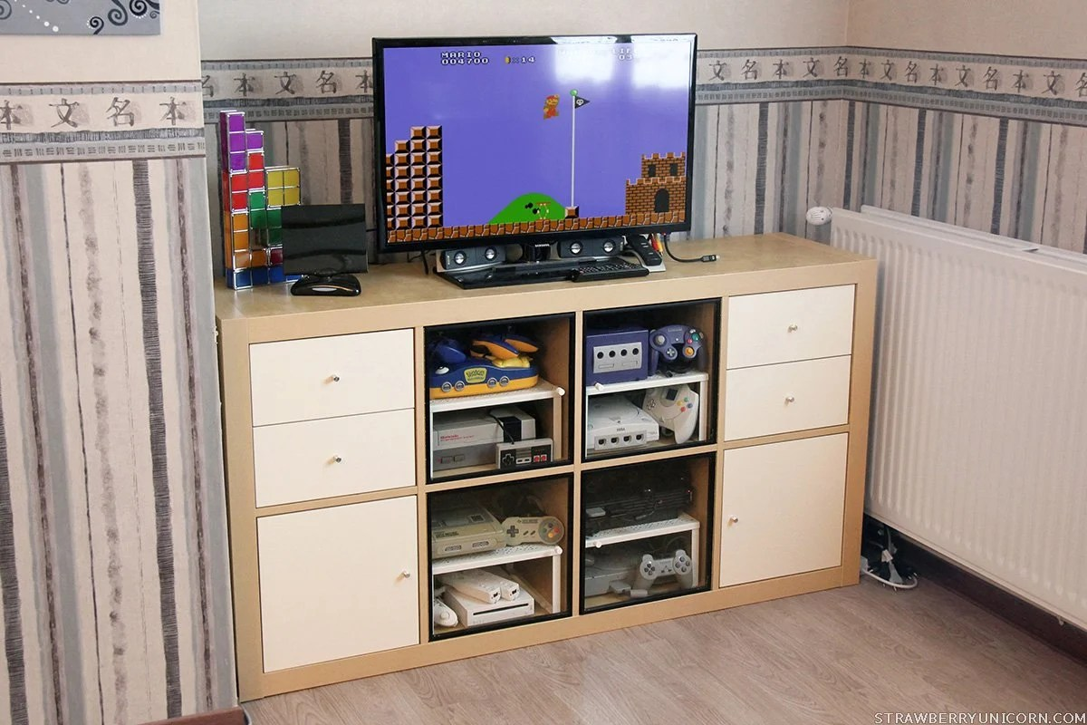 Expedit Kallax How To Make An Expedit Retro Gaming Cabinet