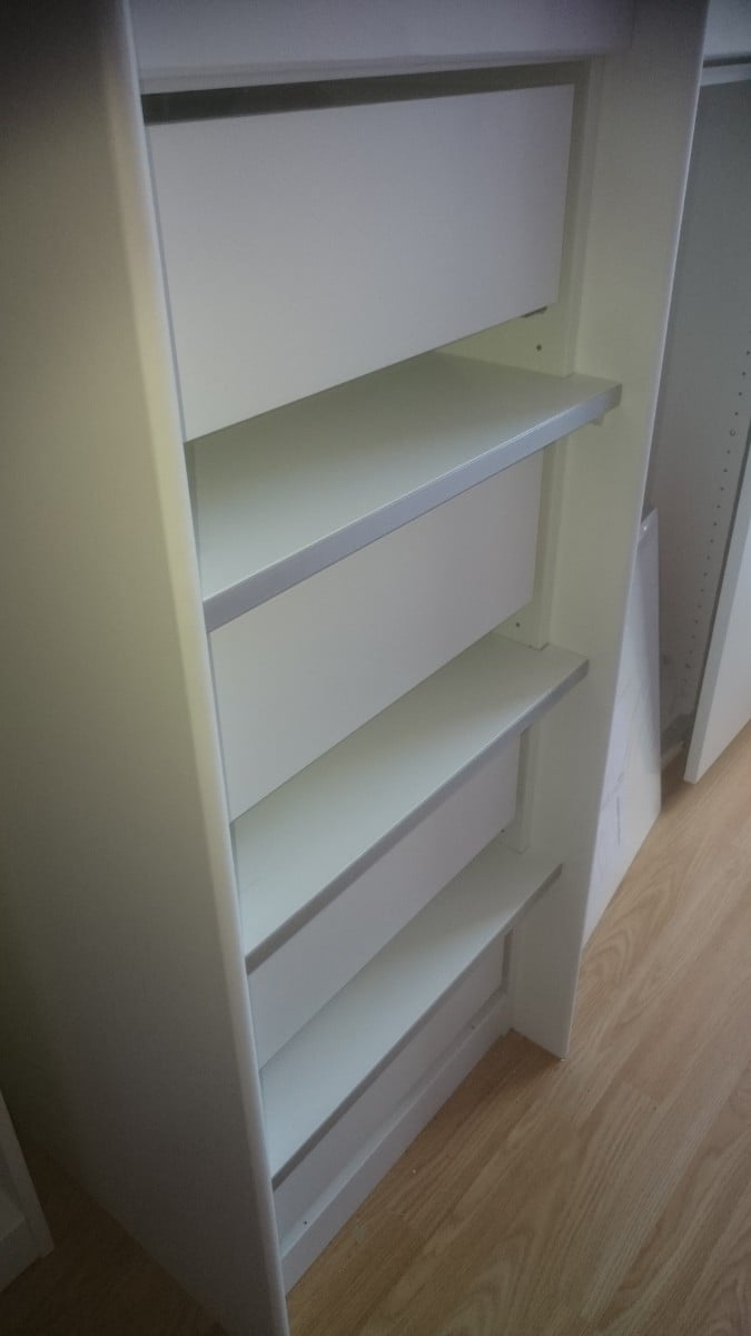 Ikea Wardrobe Gap Between Doors Ikea Pax Wardrobe Into Cabin Bed Hack - Ikea Hackers