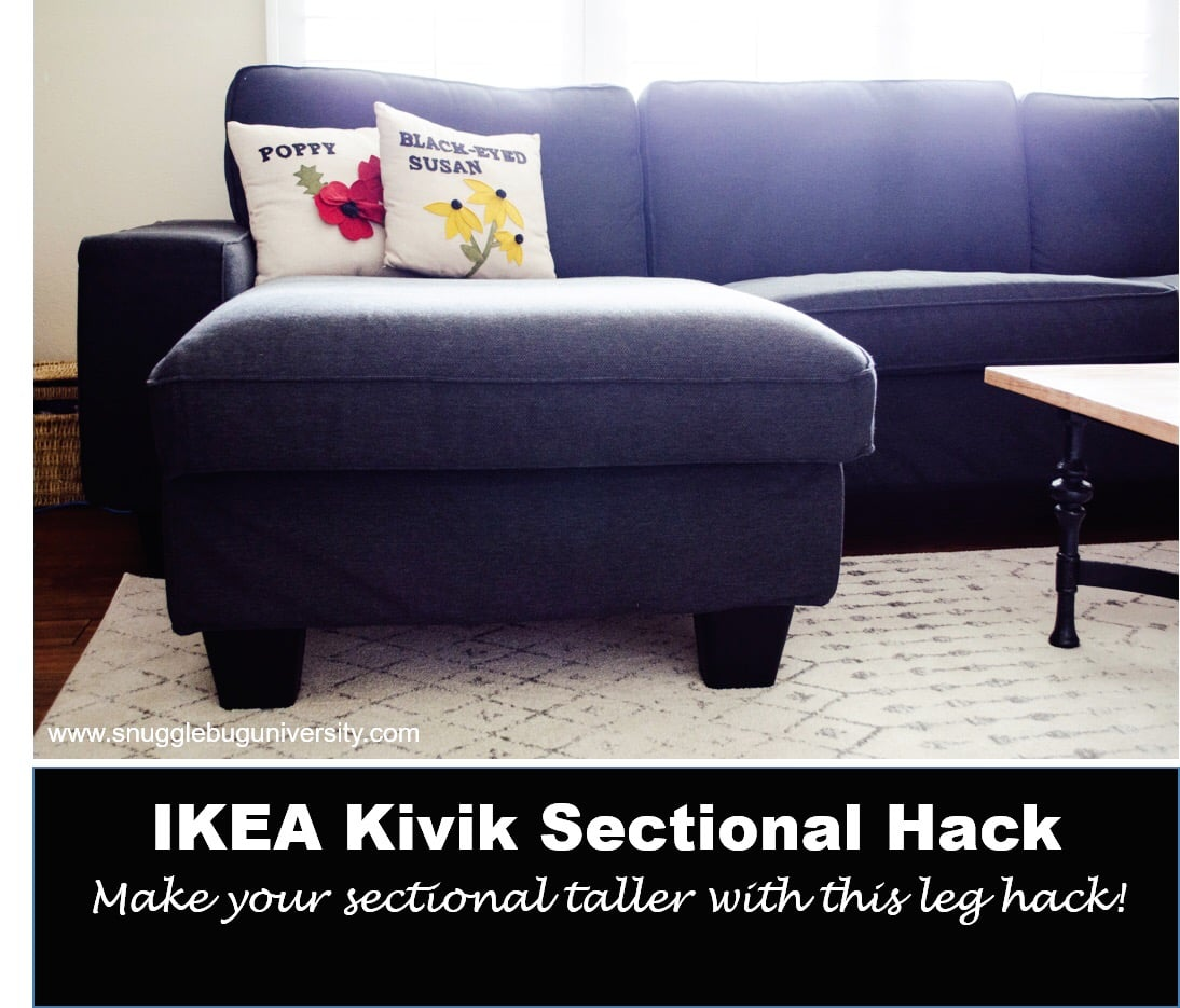 Ikea Kivik Sofa My Ikea Kivik Sectional Grows Up Ikea Hackers