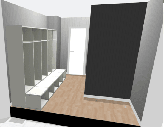 Ikea Planner BestÅ Hack - Large Mudroom Lockers With Bench - Ikea Hackers
