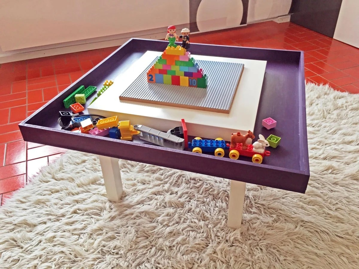 Lego Tisch Ikea Lego Table With Tray Ikea Hackers