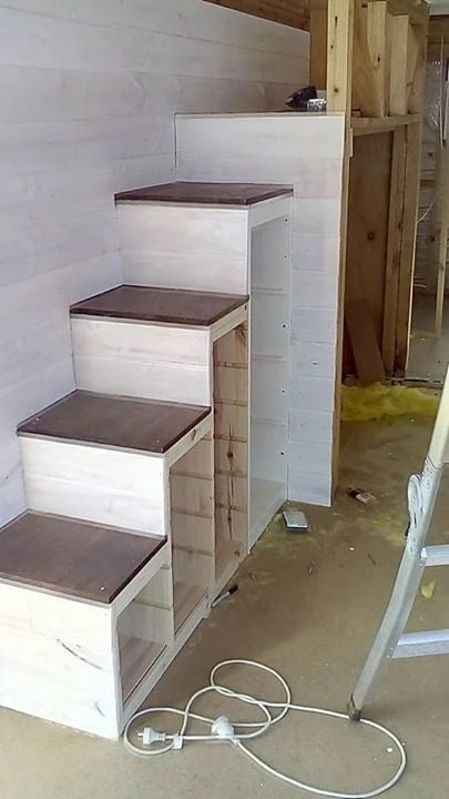 Bed Risers Ikea Trofast Storage To Sturdy Stair Conversion - Ikea Hackers