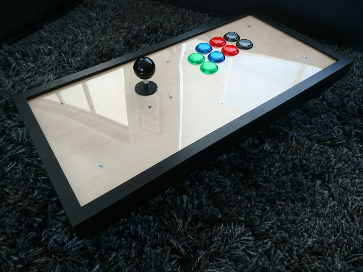 Ribba Frame Fighting Frame - Picture Frame Arcade Stick - Ikea Hackers