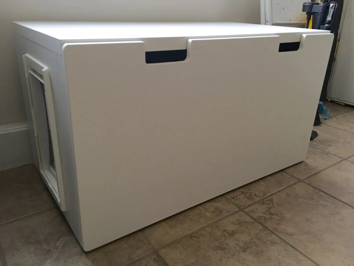 Ikéa Stuva Easy To Clean Stuva Bench Litter Box Ikea Hackers
