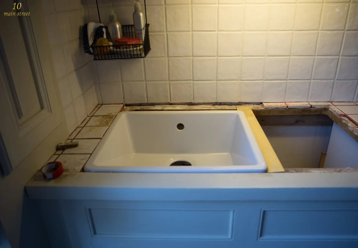 Can You Use Undermount Sink With Laminate Countertops Undermount Single Bowl Ikea Domsjö Sink For A Vintage