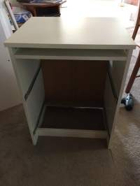 Long wooden home office / study bench desk - IKEA Hackers ...