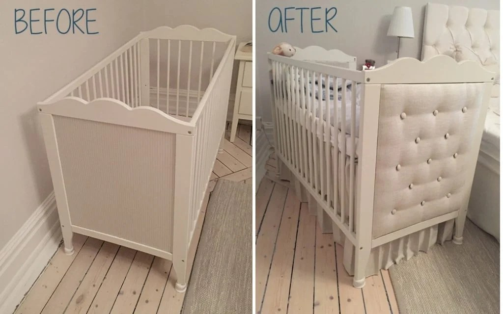 Ikea Crib Diy Headboard For Ikea Hensvik Crib - Ikea Hackers