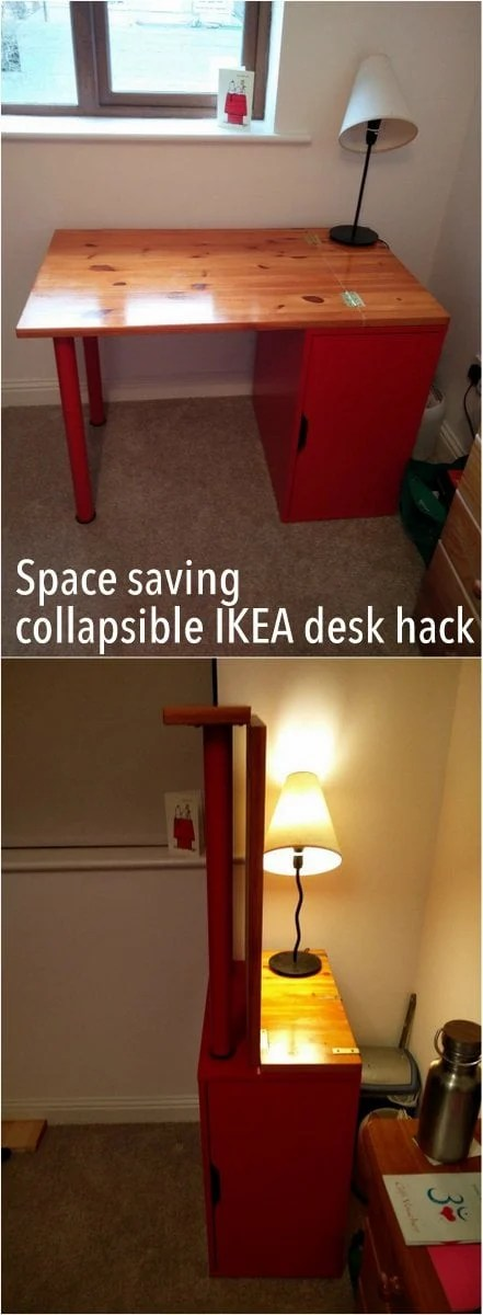 Ikea Pax Alternative The Incredible Collapsing Office: Hinged, Space-saving