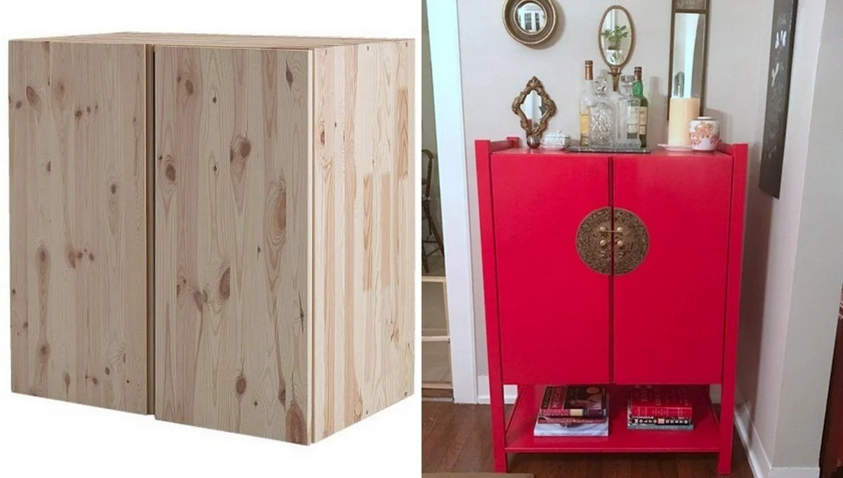 Ikea Wall Storage Units Ivar Goes Chinoiserie - Ikea Hackers - Ikea Hackers