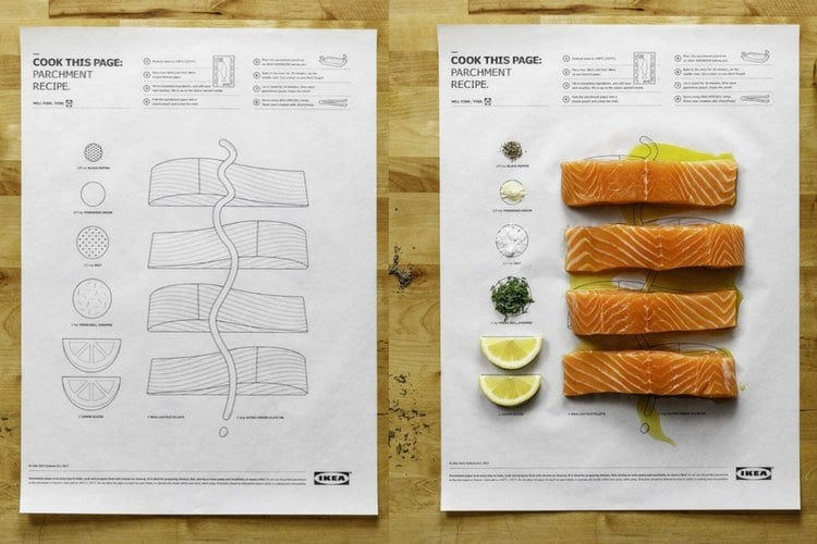 Ikea Assembly Instructions Cook This Page Is Ikea's Brilliant Cooking Hack - Ikea