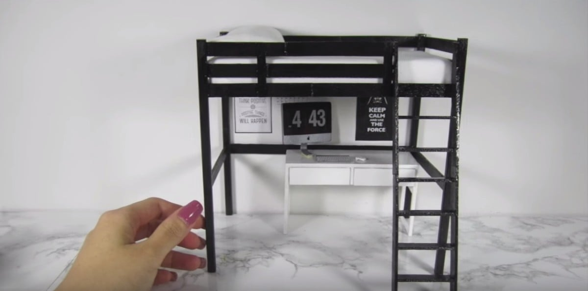 Ikea Lack Upgrade Have You Seen These Ikea Dollhouse Furniture?