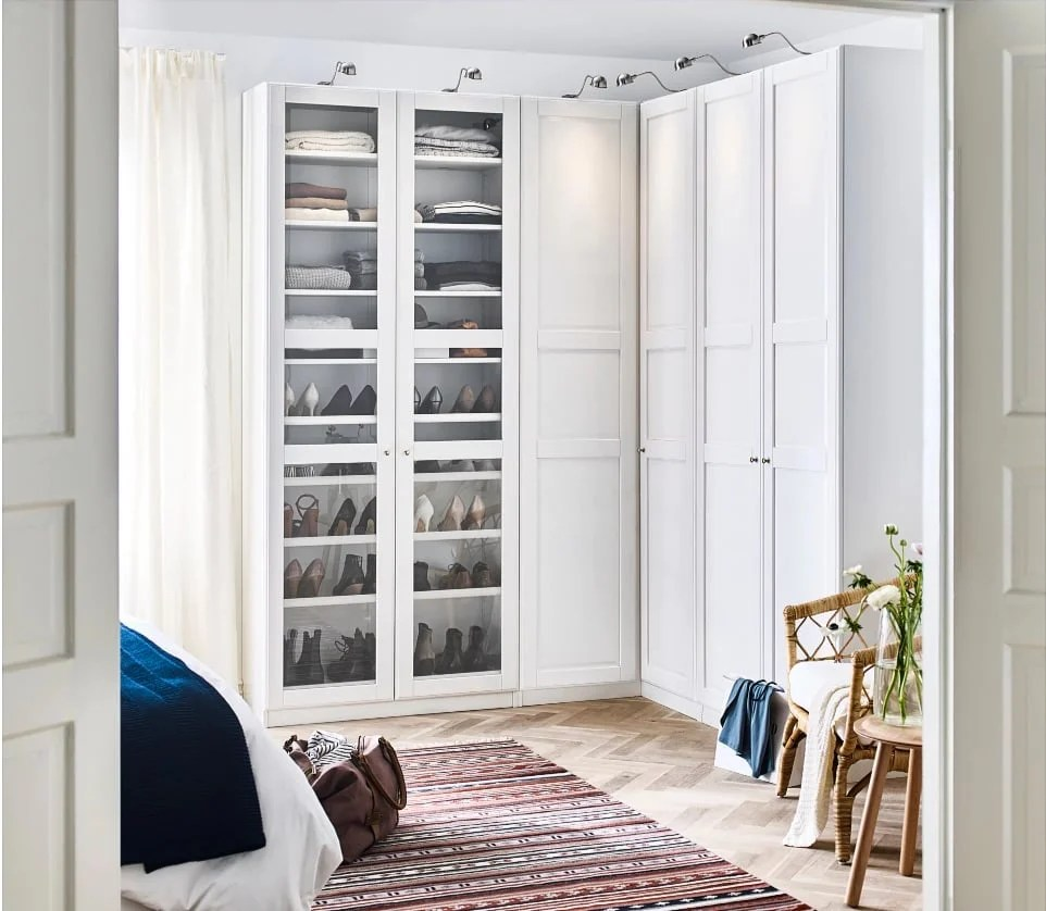 Ikea Wardrobe Leaning To One Side Hackers Help Can I Turn Regular Pax Units Into A Corner