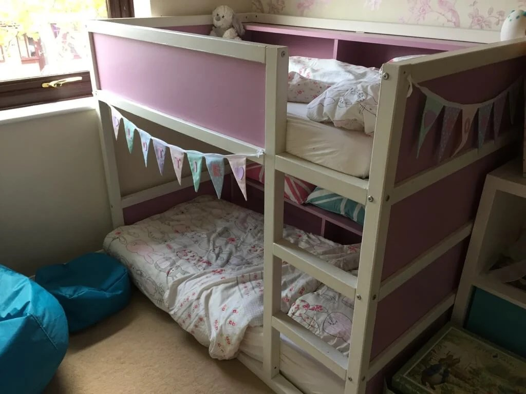 Toddler Bunks Toddler Bunk Bed Resized From Kura Loft Bed Ikea Hackers