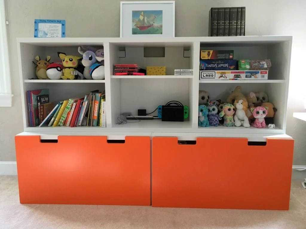 Ikea Toy Storage Toy Storage System For Messy Toy Room Ikea Hackers