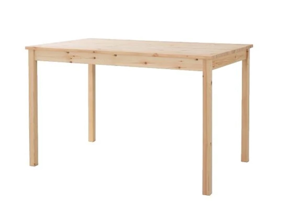 Table Console Ikea Sound System Console Table From 69 Ikea Dining Table Ikea Hackers